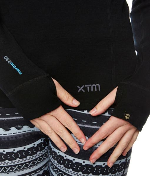 Dámské funkční merino triko ruka