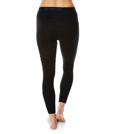 Dámské funkční merino kalhoty černé záda