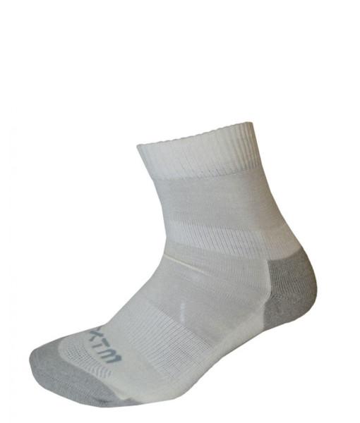 Enduro Merino Wool Socks White