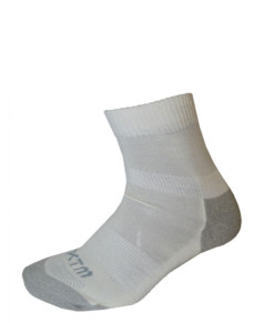 Enduro Merino Wool Socks White